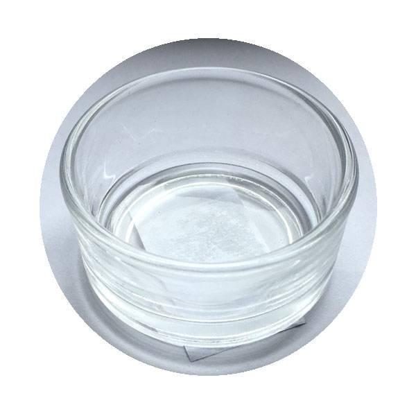 Glasnapf klein