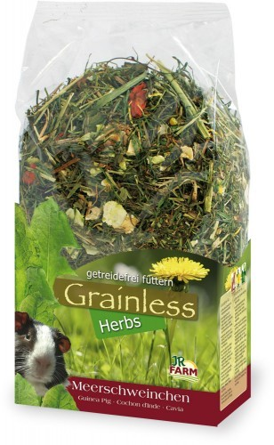JR Grainless Herbs Meerschweinchen 400g