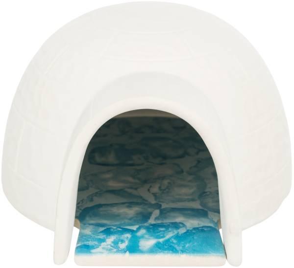 Keramikiglu mit Kühlplatte