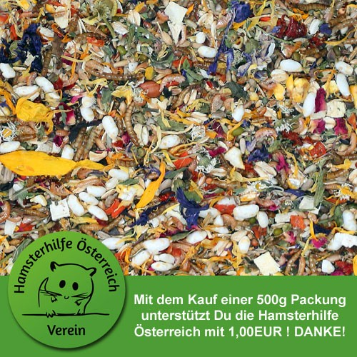 Hamsterhilfe Österreich Mittelhamsterschmaus