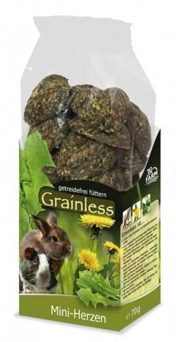 JR Farm Grainless Mini-Herzen mit Verpackung