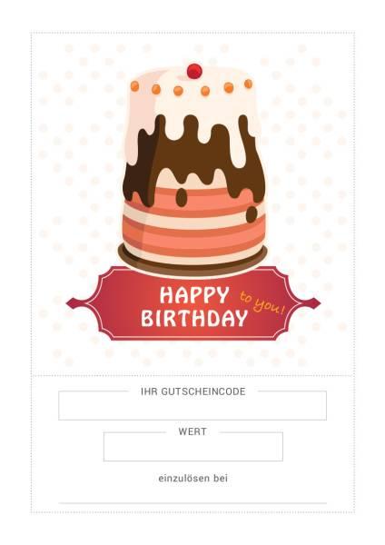 Variabler Gutschein Geburtstag