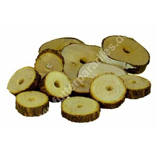 Holzscheiben naturbelassen