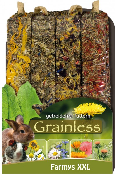 JR Grainless Farmys XXL Flower 4er Pack 450g