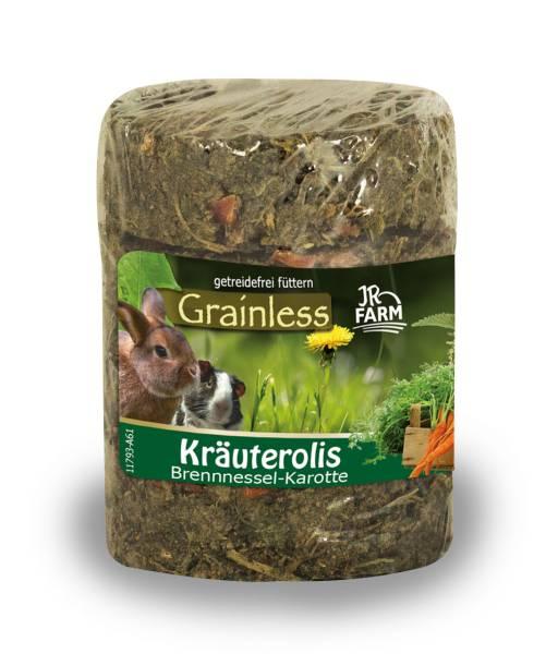 JR Grainless Kräuterolis Brennessel Karotte 80g