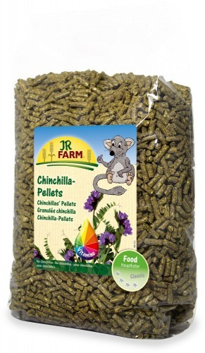 JR Farm Chinchilla-Pellets Verpackung