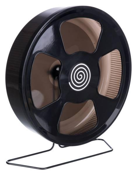 Kunststofflaufrad, schwarz