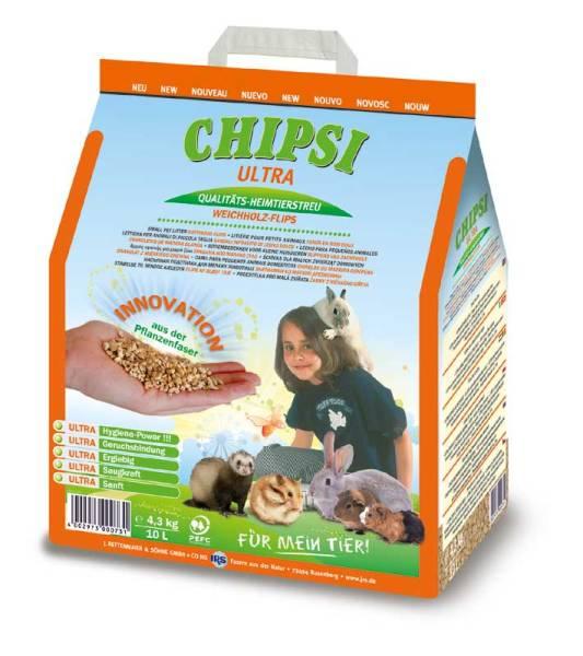Chipsi Nagerstreu ULTRA 10 Liter