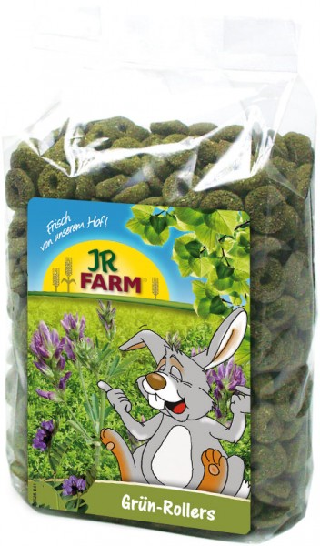 JR Farm Grün-Rollers mit Verpackung