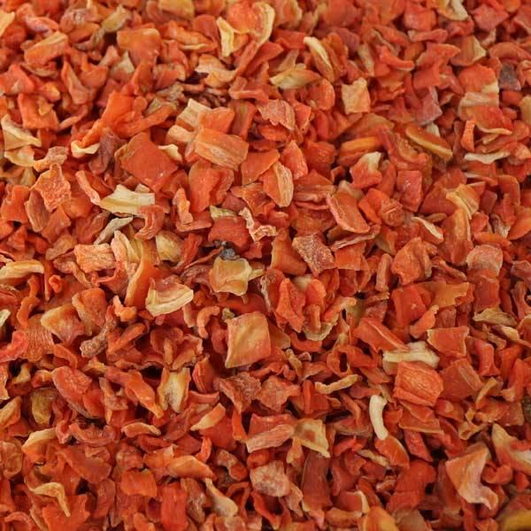 Karottenwürfel lose