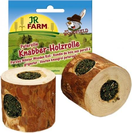 JR Farm Knabber-Holzrolle Petersilie