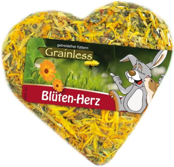 JR Grainless Blüten Herz 90g