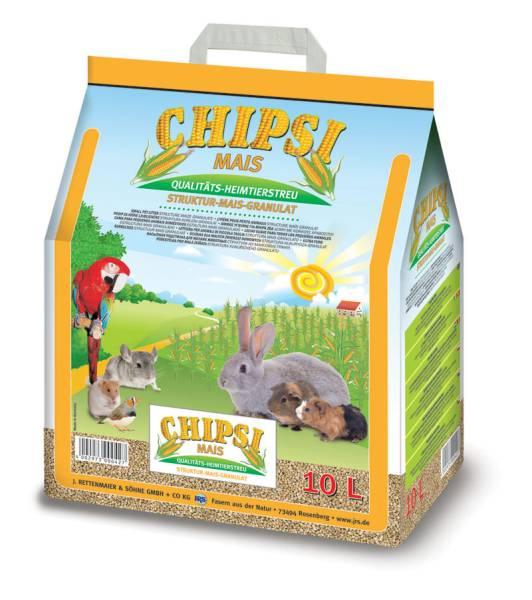 Chipsi Maisspindelgranulat 10 Liter
