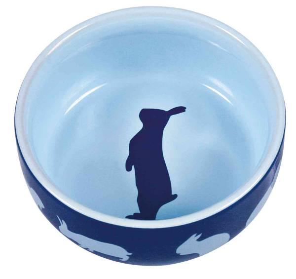 Keramiknapf mit Motiv Kaninchen div. Farben 250ml