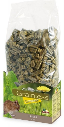 JR Farm Grainless Complete Degu mit Verpackung