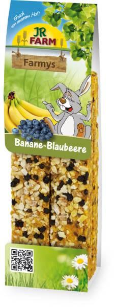 JR Farm Farmy Banane-Blaubeere Verpackung